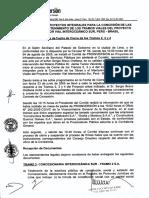 Acta de cierre del contrato de la Interoceánica (04/08/2005)