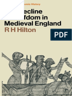 1969. Hilton - The Decline of Serfdom in Medieval England (1st. Ed.)