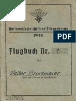 (1943) Nationalsozialistisches Fliegerkorps Flugbuch