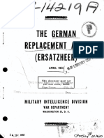 (1944) The German Replacement Army (Ersatzheer)