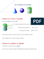 cone vs sphere vs cylinder