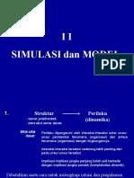 Simulasi Dan Model