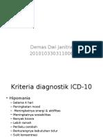 Diagnosis Penatalaksanaan Prognosis Mania