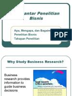 Pengantar Penelitian Bisnis