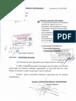 LETTRE DE DIOMI AU PRESID AN DEMANDANT AUTORISATION DE SORTIE P.pdf