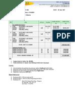 surat penawaran AC DAIKIN & HAIER Split Duct 10+15+20 PK - RSU KALIWATES - JEMBER