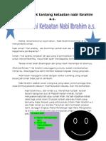 Cerita Nabi Ibrahim