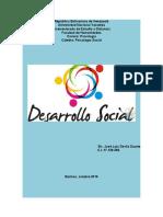 Tarea N° 1 sobre Ensayo de Desarrollo Social-PsSocial-JL