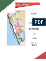 Plan Regional Patria Joven