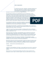 A Responsabilidade Civil Do Médico Cirurgião Plástico