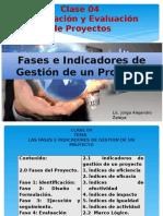 Clase 04 Fep Fases e Indicadores de Gestion de Un Proyecto y El Marco Logico