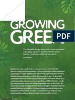 """Growing Green"" - Biophilic Cities (Subaru Drive Magazine Spring 2017)"