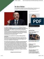 «Erdogan Sucht Den Eklat» - News International