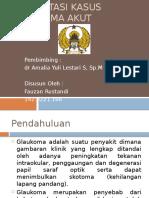 PPT Glaukoma Akut Presus
