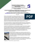 Lagunas de Estabilizacion Modificadas Estudio Del Tipo Nde Flujo