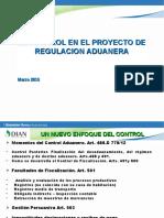 Control Proyecto Regulacion Aduanas Marzo 15 20162