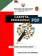 Carpeta Pedagógica Hijos Del Rey 2017