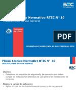 RTIC 10 Instalaciones Uso General