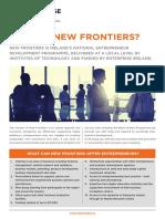 Enterprise Ireland New Frontiers Brochure