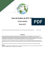 Guia Del Auditor IATF 16949 edicion 2017