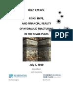 TPH Report on Fracing