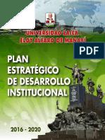Planificacion Estrategica-pedi 2016-2020 Sistema Giees