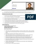 CV Henry Evio Updated