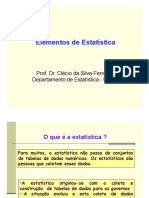 Elementos Da Estatistica