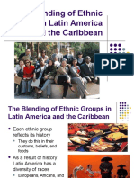 blending of latin american cultures and literacy rate