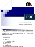 Normas de Auditoria Presentacion