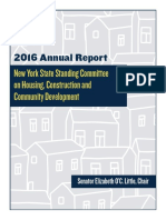 Standing Committee on Housing, Construction and Community Development - Annual Report 2016