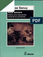 Aula Sonora Hacia Una Educación en Primaria