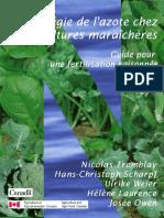Régie de l'azote chez les cultures maraîchères _ Guide pour une fertilisation raisonnée _.pdf