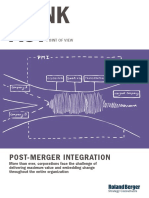 Roland Berger Tab Post Merger Integration 20150720
