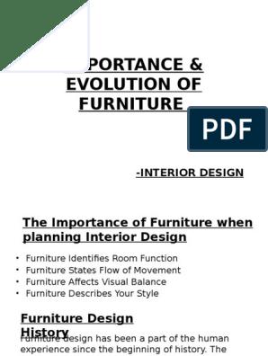 Furniture Ppt Furniture Decorative Arts