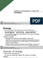 Lecture 1 ESSP Energy