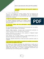 Guía Examen Psicoanálisis