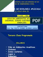 Vida en Ambientes Acuáticos, Océanos, Zonas Costeras, Lagos y Embalses