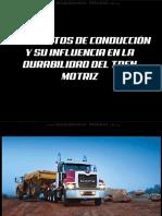 Curso Conduccion Camiones Vida Util Tren Motriz Funcionamiento Averias Danos Embrague Transmision Ejes Prevencion