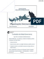 Fundações Da Global Governance