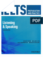 Listening and speaking IELTS