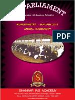 Kurukshetra Gist - Jan - 2017 - Shankar IAS