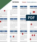 Calendario Laboral 2017 Valencia