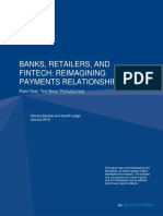 Banks Retailers and Fintech Reimagining Payments Relationships the Bank Perspective