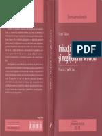 Infracţiuni de Abuz Şi Neglijenţă În Serviciu - Victor Vlăduca - 2012