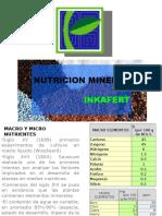 Nutricion Mineral
