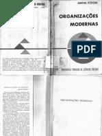 Etzioni-Organizações Modernas-Livraria Pioneira Editora (1972) Reduzido