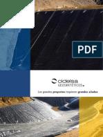 Brochure Geosinteticos 2016