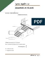 Dimensionamento de Escadas