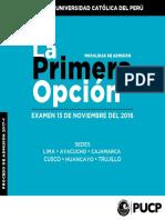 Admisión Pop Católica de Perú